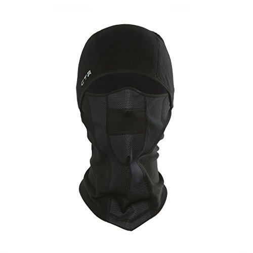 Fleece Balaclava with Windproof Face Mask - Multi-Use Design