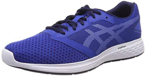 Asics Men's Patriot 10 Running Shoes, Blue (Imperial/White 402), 10 UK