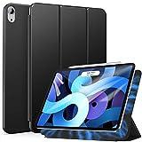Ztotop iPad Air 4ケース /iPad 10.9 ケース2020 磁気吸着式 Touch ID対応 オートスリープ機能 iPad Air第4世代/iPad Pro 11 2018対応カバー(ブラック)