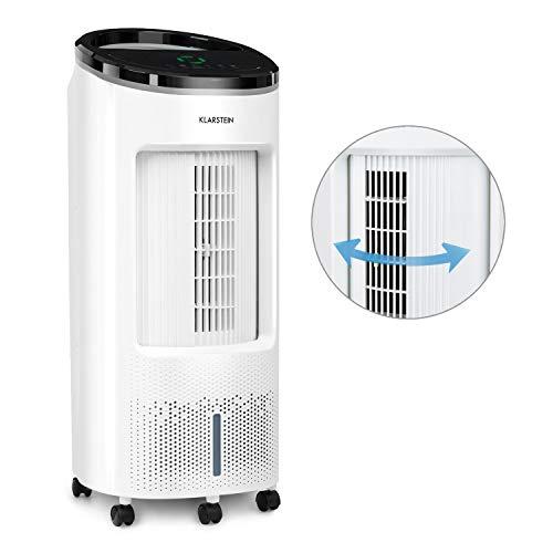 KLARSTEIN IceWind Plus - Raffrescatore Evaporativo, Ventilatore, Umidificatore, Depuratore d'Aria...