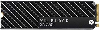 WD Black SN750 NVMe - Disque SSD interne haute-performance pour ordinateurs de jeu, 500 Go, avec dissipateur