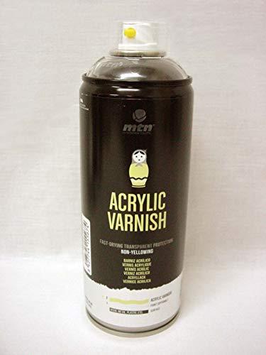 (34561) Bote Spray Pintura Barniz Acrílico Brillante Montana Colors Profesional