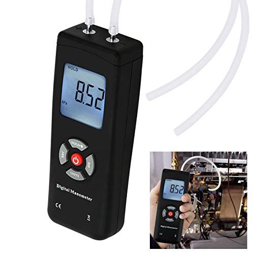 Digital Handheld Manometer HVAC Air Vacuum/ Gas...