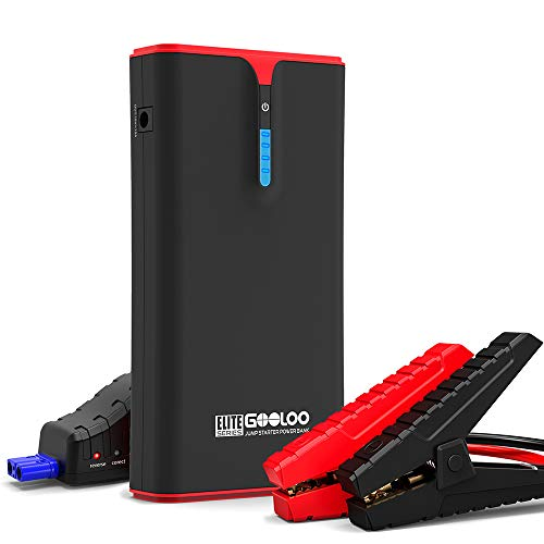 GOOLOO 1500A Peak SuperSafe Car Jump Starter (up to 8.0L Gas, 6.0L Diesel Engine) with Quick Charge...