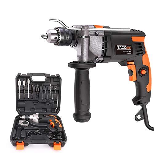 Hammer Drill, TACKLIFE 7.1-Amp 3000 RPM Corded Drill...
