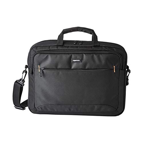 AmazonBasics 15.6-inch Laptop and Tablet Bag, Black