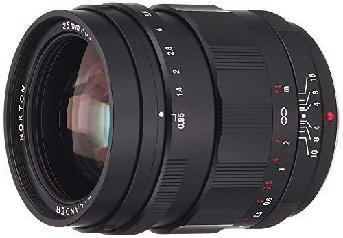 VoightLander 単焦点レンズ NOKTON 25mm F0.95 TypeII Micro Four Thirds マイクロフォーサーズ対応 232044