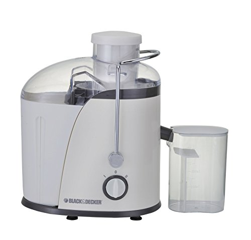Black & Decker JE400 400-Watt Juice Extractor (White)