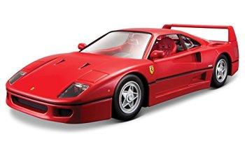 Bburago B18-26016 Ferrari 1:24 Race and Play F40, Red