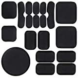 Airsoft Helmet Pads, 19pcs/Replacement Bike Motorcycle Padding Kit Tactical Helmet EVA Foam Insert Bicycle Accessories Soft and Durable, Helmet Foam Pads for MICH CS FMA ACH USMC PASGT