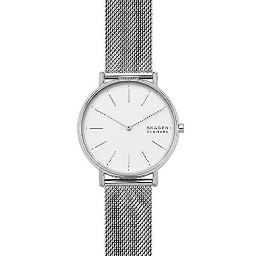 Skagen Damen Analog Quarz Uhr mit Edelstahl Armband SKW2785