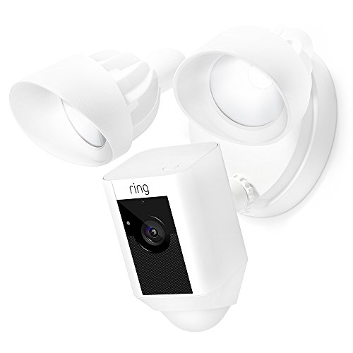 Ring Floodlight Camera Motion-Activated HD Security Cam Two-Way...
