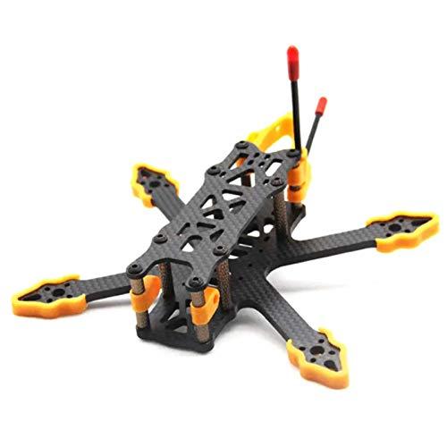 Accessori giocattolo. Accessori Telaio per drone, interasse 140 mm Kit telaio per drone Braccio da 3 pollici 4mm Telaio per drone Telaio da corsa FPV in fibra di carbonio per RC Drone Facile da instal