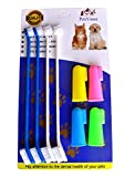 PenVinoo Dog Toothbrush Pet Toothbrush Finger Toothbrush Small to Large Dogs (1pack)