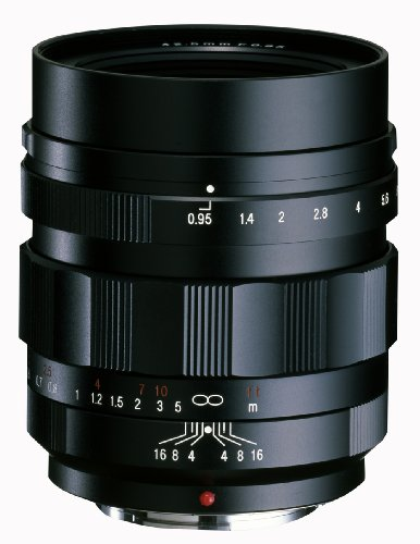 VoightLander 単焦点レンズ NOKTON 42.5mm F0.95v Micro Four Thirds マイクロフォーサーズ対応 232037