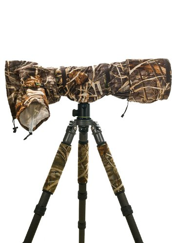 LensCoat RainCoat Pro (Realtree Max4 HD) - camera lens rain cover