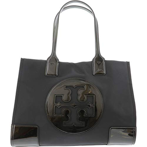 """41tZvfH+NOL Dimensions: 14""""W x 10""""H x 5""""D Handles with strap drop of 7"""" Fashion Trend: Top-Handle Bag Nylon Tote"""