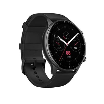 Amazfit GTR 2 Smartwatch with 3GB Music Storage, GPS, Heart Rate, Sleep, Stress, SpO2 Monitor, 14-Day Battery Life, Bluetooth Phone Calls, 90 Sports Modes, Water-Resistant (Sports)