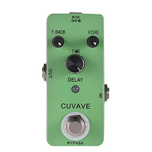 Guitar Effect Pedal With Classic Delay Effect DELAY Analog Echo Guitar Pedal Zinc Alloy Shell True Bypass Guitar Parts