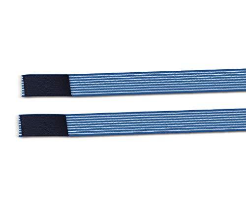 Fiab 2 Fasce Elastiche Altezza 3Cm Lunghezza 100Cm Elastic Bands Fissaggio a Strappo per elettrodi stimolazione ionoforesi