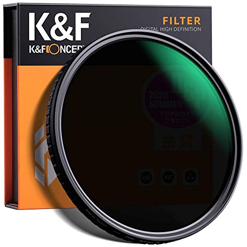 K&F Concept 82mm Fader ND Filter Neutral Density Variable Filter...