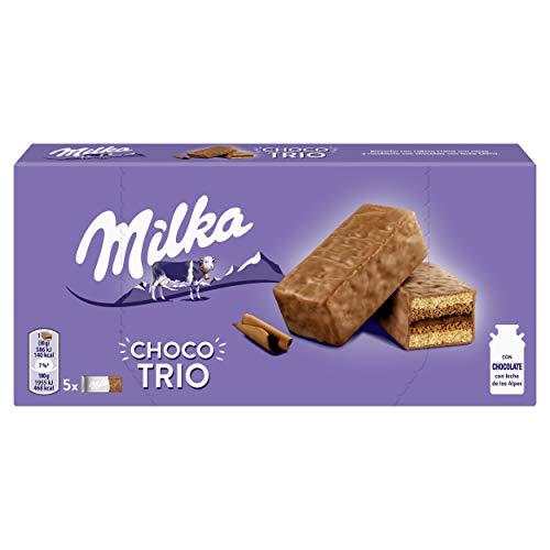 Milka Bizcocho Relleno de Cacao y Cubierto de Chocolate con