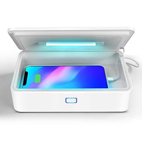Amtidy U99 UV Sanitizer,Portable UV Sterilizer Box 99.9% Sterilization for Mask,Cell...