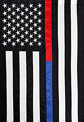 """12.5"""" x 18"""" Garden Flag 100% All-Weather Polyester Text correctly readable on one side Fade/Mildew Resistant For use with any standard garden flag stand (not included)"""