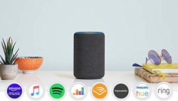 Nouvel Amazon Echo (3ème génération), Enceinte connectée avec Alexa, Tissu anthracite