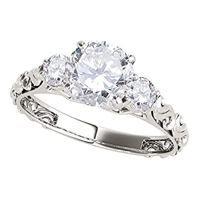 This Most Selling 1/2 Carat halo Round Real Diamond Engagement Promise Ring crafted in 14k Rose white Gold Two Tone wedding ring ,expresses the harmony of union with delicate in diamond design. The ring features a big centre White diamond brilliant c...