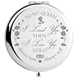 Wife Gifts from Husband Romantic, Women Gift Unique for Anniversary Birthday Valentines Day Christmas, Bride Gifts Engraved for Wedding Day (to My Queen)
