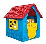 DOHANY 456 Casetta giocattolo per interni ed esterni, casetta da giardino per bambini dai 2 anni in su
