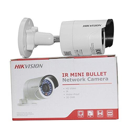 Hikvision 4MP DS-2CD2042WD-I IR PoE Network Security Bullet Camera 4mm Lens