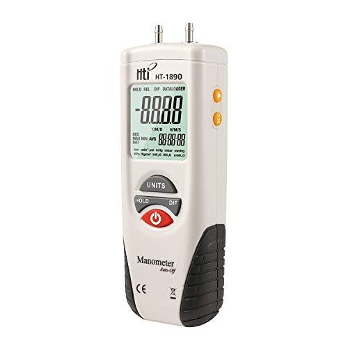Hti-Xintai Digital Manometer, Dual Port Air...