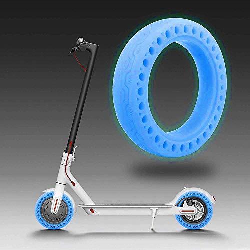 SGMY Neumático de fluorescents Rueda de Repuesto de 8,5 Pulgadas de células sólido 8 1/2X2 para Delantero/Trasero de neumáticos M365 neumáticos de reemplazo de Scooter de 8.5 Pulgada