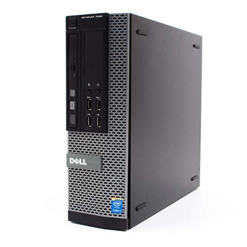 DELL Optiplex 7020 SFF Ordinateur de bureau, ultra rapide, avec processeur Intel i7-4770K, 16Go de RAM DDR3, 480Go de disque SSD (Reconditionné)