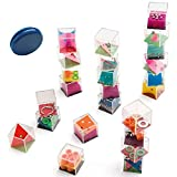 Partituki Pack de 25 Jeux: 24 Casse-têtes Cubes à Billes pour Enfants et...