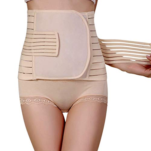 NUCARTURE® Pregnancy belts after delivery c section corset,post maternity belt support for women normal delivery corset abnormal Slimming Postpartum Recovery Tummy Body Shaper Hip Cincher controller (80-110cm).