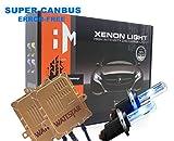 Wattstar H7 Xenon HID Kit, H7 Scheinwerferlampe 6000K 55W, H7 Auto Xenon Weiß, 2 Pack