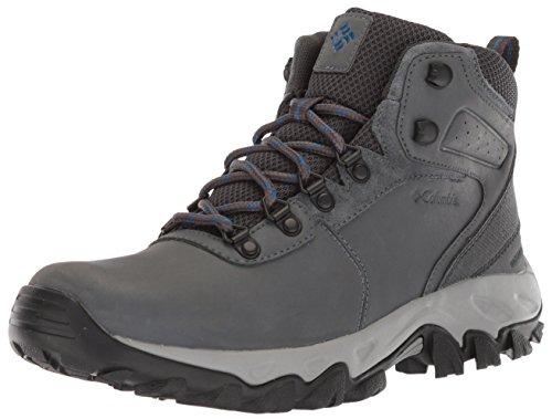 Columbia mens Newton Ridge Plus Ii Waterproof Hiking Boot, Graphite/Royal, 10.5 US