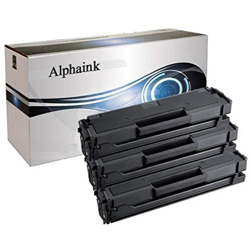 3 Toner Alphaink CompatibilI con Samsung MLT-D111 versione L da 1.800 copie per stampanti Samsung...