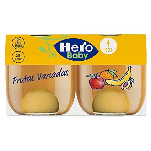 Hero Baby Tarritos de Frutas Variadas - Para Bebés a partir