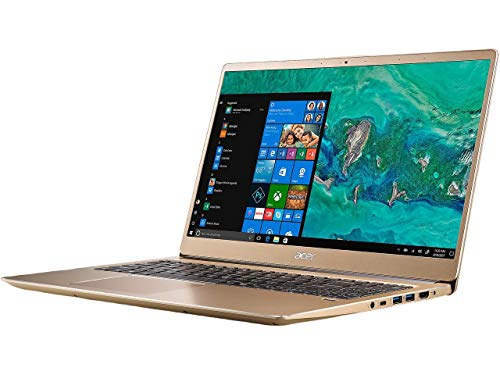 Acer Swift 3 SF315 Laptop: Core i7-8550U, 256GB SSD, 8GB RAM, 15.6' Full HD IPS Display, Windows 10 (Luxury Gold)
