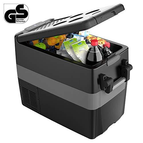 40 Litri Frigoriferi Auto12V 240V, GS Omologati Frigo Freezer Elettrico Portatile Compressore con Adattatore da Parete...