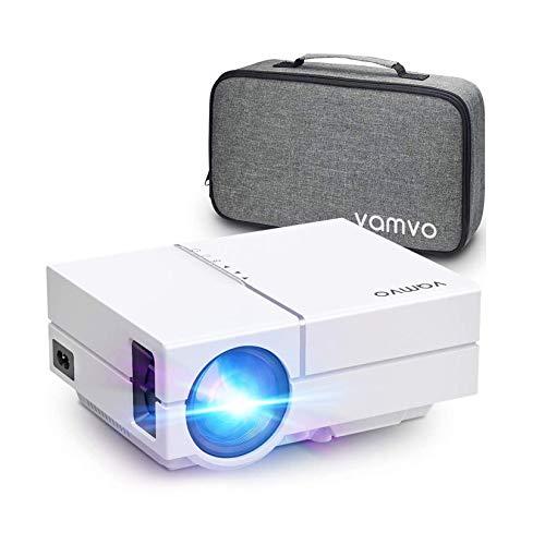 Proiettore Vamvo Videoproiettore L4500 Full HD 1080p Native con Dolby, Mini Proiettore Portatile 5000 Lux, Ideale per...