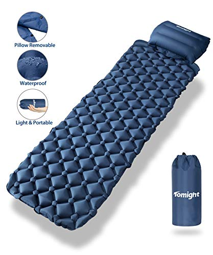 Tomight Matelas de Camping Gonflable, Coussin d'air Ultraléger avec...