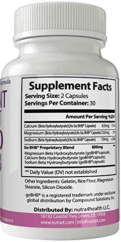 Radiant Swift Keto BHB 800mg Advanced Diet Pill Ketones Capsules Ketogenic Supplement for Weight Loss Pills 60 Capsules 800 MG GO BHB Salts to Help Your Body Enter Ketosis More Quickly 4