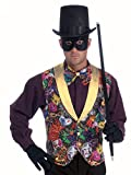 Forum Masquerade Party Costume, Multi-Colored, One Size