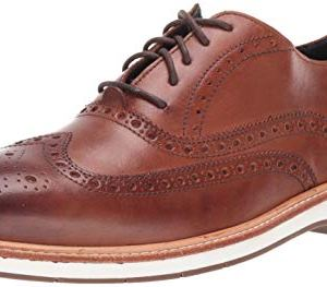 Cole Haan Men's Morris Wing Ox:Black Tumble Oxford