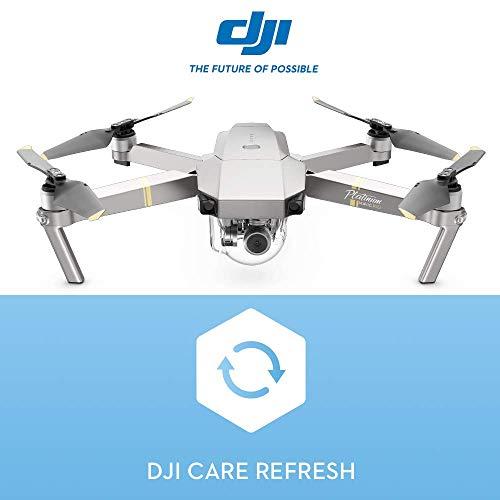 DJI- Mavic PRO Platinum Fly More Combo con assicurazione DJI Care - Copre da Danni, Cadute e Acqua  Fino a 2 Sostituzioni  Valida 12 Mesi e Attivabile Entro 48 Ore